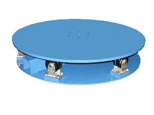 Industrial powered turntables tph tpl for Large motorized rotating platform